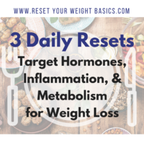 weight loss, nutrition, lifestyle, hormones, inflammation, metabolism