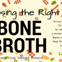 bone broth, healthy, fat loss, weight loss, real food,
